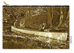 Canton Canoe Trip 2016 50 Carry-all Pouch by George Ramos