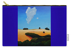 Canvas 2 Of Triptych Carry-all Pouch