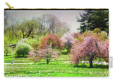 Carry-all Pouch featuring the photograph Garden Canvas  by Diana Angstadt