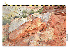 Canyon Color In Valley Of Fire Carry-all Pouch
