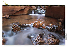 Carry-all Pouch featuring the photograph Canyon Creek by Dustin LeFevre