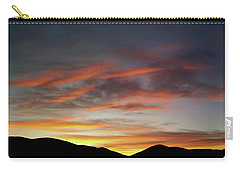 Canyon Hills Sunrise Carry-all Pouch