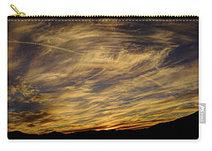 Canyon Hills Sunset Carry-all Pouch