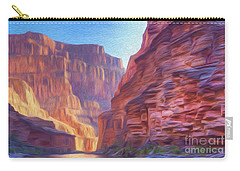 Canyon Light Carry-all Pouch by Walter Colvin