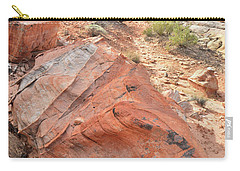 Canyon Of Color In Valley Of Fire Carry-all Pouch by Ray Mathis