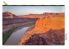 Canyon Of Colorado River - Sunrise Aerial View Carry-all Pouch