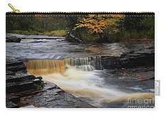 Canyon River Falls Carry-all Pouch by Rachel Cohen