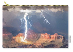 Canyon Storm Carry-all Pouch by Gary Grayson