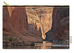 Canyon Walls Carry-all Pouch by Walter Colvin