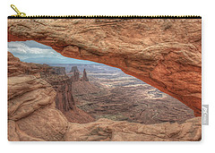 Canyonlands From Mesa Arch Carry-all Pouch