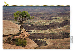 Carry-all Pouch featuring the photograph Canyonlands by Gary Lengyel