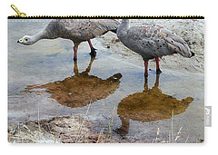 Cape Baron Geese On Maria Island 2 Carry-all Pouch by Lexa Harpell