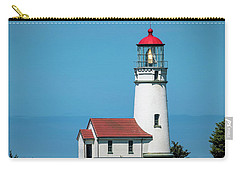 Cape Blanco Lighthouse At Cape Blanco, Oregon Carry-all Pouch