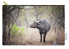 Cape Buffalo In A Clearing Carry-all Pouch