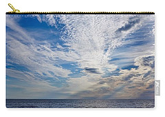 Carry-all Pouch featuring the photograph Cape Clouds by Kendall McKernon