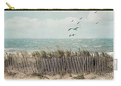 Cape Cod Beach Scene Carry-all Pouch