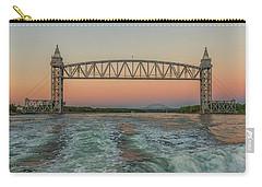 Cape Cod Canal Railroad Bridge Sunset Carry-all Pouch