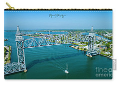 Cape Cod Canal Suspension Bridge Carry-all Pouch