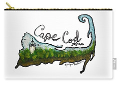 Cape Cod, Mass. Carry-all Pouch