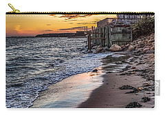 Carry-all Pouch featuring the photograph Cape Cod September by Kendall McKernon