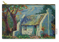 Cape Cottage With Mountains Art Bertram Poole Carry-all Pouch