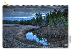 Carry-all Pouch featuring the photograph Cape Fear Tide Pool by Phil Mancuso