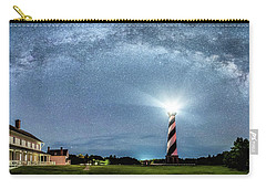 Cape Hatteras Light House Milky Way Panoramic Carry-all Pouch