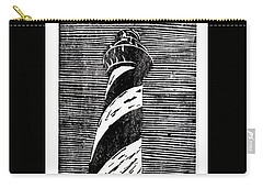 Carry-all Pouch featuring the painting Cape Hatteras Lighthouse II by Ryan Fox