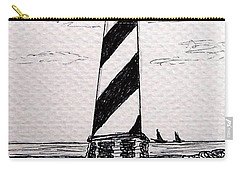 Cape Hatteras Lighthouse Nc Carry-all Pouch