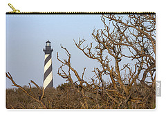 Cape Hatteras Lighthouse Through The Brush Carry-all Pouch
