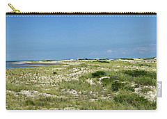Carry-all Pouch featuring the photograph Cape Henlopen State Park - The Point - Delaware by Brendan Reals