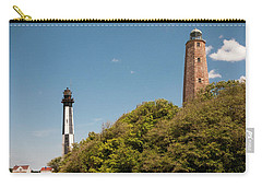 Cape Henry Lighthouses Old And New Carry-all Pouch