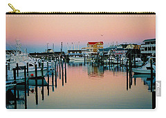 Carry-all Pouch featuring the photograph Cape May After Glow by Steve Karol