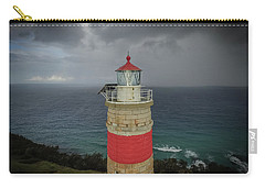 Carry-all Pouch featuring the photograph Cape Moreton Light by Keiran Lusk
