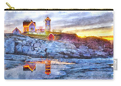 Cape Neddick Light Watercolor Carry-all Pouch