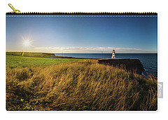 Cape Tryon Lighthouse Sunset Carry-all Pouch