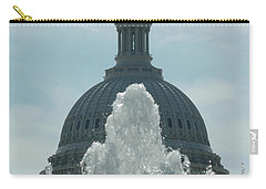 Capital Dome Behind Fountain Carry-all Pouch