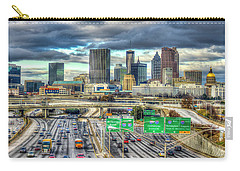 Capital Of The South Atlanta Skyline Cityscape Art Carry-all Pouch