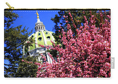 Capitol In Bloom Carry-all Pouch