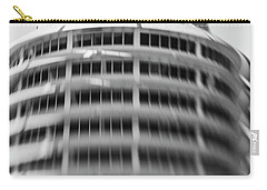 Capitol Records Building 18 Carry-all Pouch by Micah May