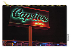 Carry-all Pouch featuring the photograph Caprice Hotel Wildwood by Kristia Adams