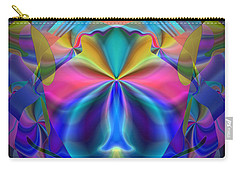 Carry-all Pouch featuring the digital art Caprice by Lynda Lehmann