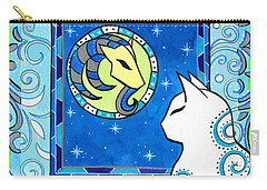 Capricorn Cat Zodiac Carry-all Pouch