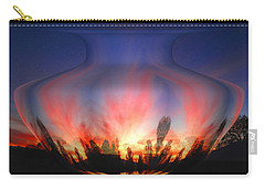 Carry-all Pouch featuring the photograph Capricorn Morning by Joyce Dickens