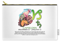 Capricorn Sun Sign Carry-all Pouch