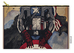 Captain America Recruiting Poster Carry-all Pouch