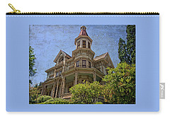 Carry-all Pouch featuring the photograph Captain George Flavel House by Thom Zehrfeld