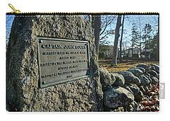 Captain John Locke Monument  Carry-all Pouch