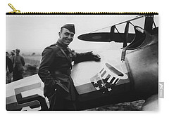 Captain Rickenbacker Painting Carry-all Pouch