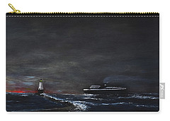 Car Ferry Badger November Crossing Carry-all Pouch